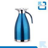 亜鉛合金の旋回装置のふたが付いている高品質のステンレス鋼の真空のコーヒー鍋及びやかん