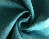 屋外のジャケットファブリックのための75D*300dあや織りポリエステル伸縮織物