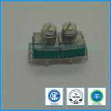 Potentiomètre rotatoire de carbone simple de troupe de la fabrication 0.05W 9mm