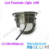 24X1w LED RGB Lighting, RGB LED Controller WiFi Addressable RGB LED Underwater Lamp