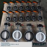 Type vannes papillon de disque d'acier de moulage de fer de moulage de fabrication de Tianjin