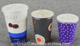Wegwerf-PS kalte Cup-Kappe 76 80 90 mm-
