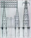 Kraftübertragung-Gitter-Stahl-Aufsatz