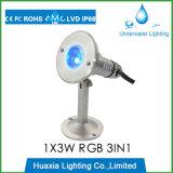 수중 수영장 빛을 수영하는 316stainless 강철 IP68 LED