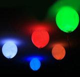 Aerostato del lattice di incandescenza dell'OEM LED per la decorazione della festa nuziale