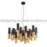 Светильник самомоднейшего канделябра металла вися для живущий освещения комнаты