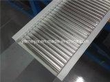 中断された金属の天井は商業建物のためのアルミニウム波形の天井のボードをタイルを張る