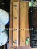 Filas del bambú y de madera de la alta calidad del gancho de leva de la capa (ZH-H001)