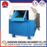 Máquina de estaca do Shredder da espuma do algodão da esponja de três facas