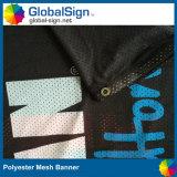 Tekens van de Banner van het Netwerk van de Stof van de Kleurendruk van de fabrikant de Volledige