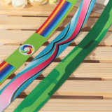 Fábrica de alta calidad de doble cara decorativa cinta de raso