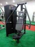 Тренировка гимнастики высокого качества коммерчески усадила машину давления комода