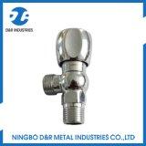 Др. 5021 угловой вентиль покрынный кромом латунный для ванной комнаты
