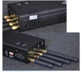 4 emittente di disturbo tenuta in mano del segnale di WiFi 3G delle antenne con il ventilatore
