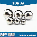Esfera de aço de baixo carbono G100 de AISI1010 14.288mm para o rolamento