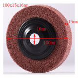 100X15mm 7p PU Polishing Pad Roll Aimant abrasif