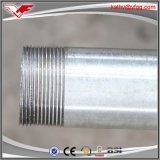 Tubo de acero galvanizado sumergido caliente BS1387 del fabricante