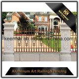 De openlucht Decoratieve Ornamenten van de Omheining van het Gietijzer van het Metaal van het Aluminium Voor de Decoratie van de Tuin