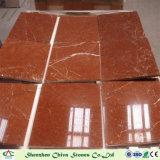 Plakken van de Tegels van Alicante van Rosso de Marmeren Rode Marmeren voor Bevloering/de Tegels/Countertops van de Muur