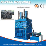 Máquina hidráulica vertical resistente da prensa de empacotamento do pneu da sucata
