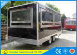 Ys-Fb450 Venta caliente Camper Van Food Trailer