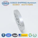 Peças de maquinaria de alumínio personalizadas com fazer à máquina do CNC