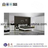Moderne König Size Bed White Color MDF-Schlafzimmer-Möbel (B23#)