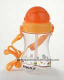 la bella plastica 350ml mette in mostra la bottiglia di acqua, i prodotti di lunga vita (hn-1203)