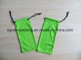 Bolsa colorida 100%Polyester de los vidrios de Microfiber (verde/roja/negro/amarillo)