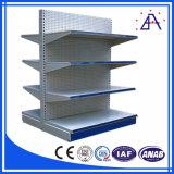 El aluminio anodiza el estante de plato del color de Champán