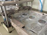 Tapa plástica de los PP que hace la máquina