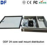 Casella di distribuzione ottica della parete fibra Port esterna/dell'interno del supporto 24
