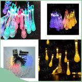 太陽LEDのクリスマス装飾的な祝祭党のためのマイクロストリングエネルギーライト