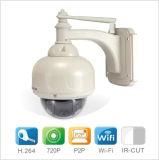 Câmera ao ar livre impermeável sem fio do IP da câmara de segurança do IP do CCTV de HD 720p WiFi