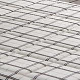 고품질 호텔 침실 가구, G7902를 위한 자연적인 유액을%s 가진 뜨개질을 한 직물 덮개 포켓 봄 매트리스