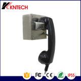 Teléfono Auto-Dial del acero inoxidable del teléfono Knzd-53 del teléfono resistente del vándalo de Kntech