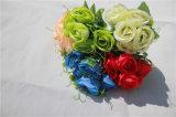 5 fiori artificiali della Rosa di punte per la decorazione