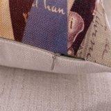 Cassa stampata tela nordica del cuscino di manovella del cotone di stile senza farcire (35C0011)