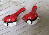 De hete Pijp van het Glas van de Hand Pokemon met Groothandelsprijzen Meer Rode Green