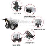 Camion d'or de brouette de pouvoir de qualité de Manufactors mini/chargeur de jardin