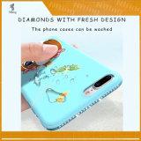 Крышка сотового телефона нового диаманта мягкая TPU печатание 3D милого для iPhone 6s аргументы за iPhone 5s для положительной величины iPhone 6s на iPhone 7 на iPhone 7 добавочное