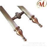 Smerigliando con la maniglia di portello di legno di legno dell'acciaio inossidabile di rivestimento