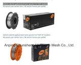 boisseaux de fil galvanisés par électro de 0.8mm pour des modèles de Tjep