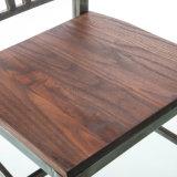 Presidenza di legno del blu marino della sede di stile del ristorante antico della caffetteria (SP-MC043W)