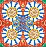 Шарф сатинировки классицистического облегченного печатание цифров Silk