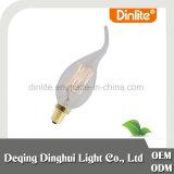Lampadina antica del filamento della fiamma di candela E14 25W per la lampada pendant