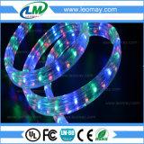 3 indicatore luminoso ad alta tensione rotondo della corda di natale dei collegare del bottaio 220V LED