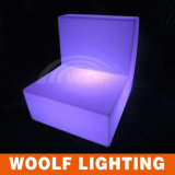 Sofá recto del sofá LED del LED