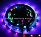 Farbenreicher SMD5050 Streifen des RGB-IP20 Chip-30LEDs 9W DC24V LED