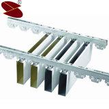 função à prova de fogo branca de Matt da espessura de 0.65mm do teto de alumínio decorativo do defletor